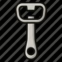 beer, corkscrew, wine icon