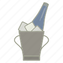 alcohol, bar, bottle, champagne, cool, pub, wine icon