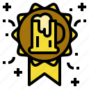 beer, brewery, quality, reward icon