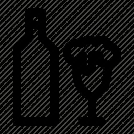 Beer, bottle, glass, saint patrick, st patrick day icon - Download on Iconfinder