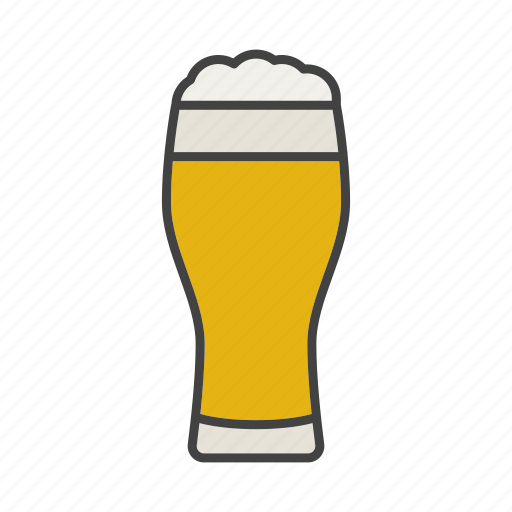 alcohol, beer, beverage, drink, ele, foam, glass icon