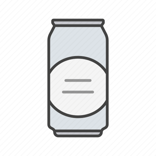 alcohol, beer, beverage, can, cola, drink, jar icon