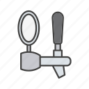 alcohol, bar, beer, beer tap, beverage, faucet, tap icon