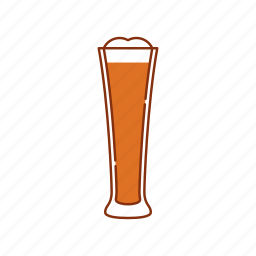 ale, beer, drink, froth, glass, ipa, lager icon