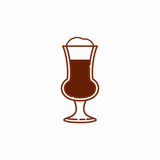 beer, bock, froth, glass, goblet icon