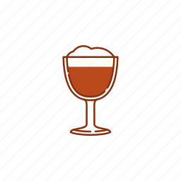 beer, brew, drink, froth, glass, goblet, mug icon