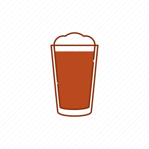 ale, beer, brew, drink, froth, glass, pint icon