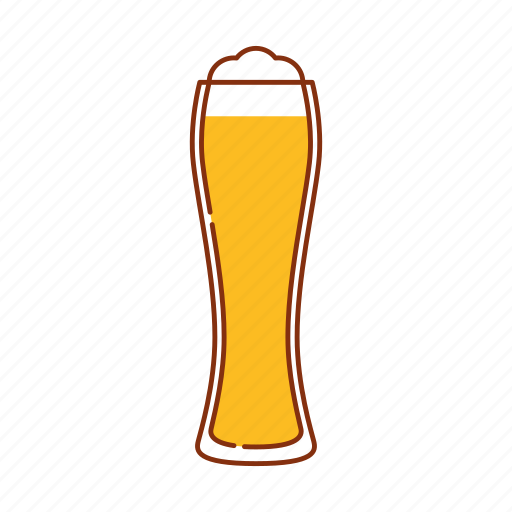 beer, blonde ale, brew, froth, glass, lager icon
