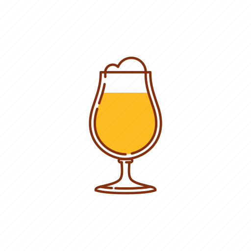 ale, beer, blonde ale, brew, glass, goblet, lager icon