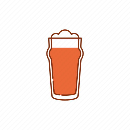 beer, bitter, brew, drink, froth, glass, pint icon