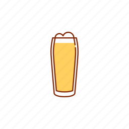 ale, beer, blonde, drink, glass, ipa, lager icon