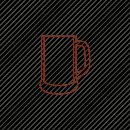 beer, glass, krug, mug icon