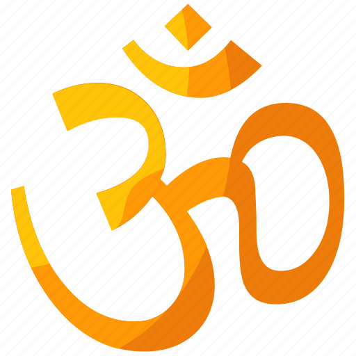 belief, hindu, hinduism, religion, religious, symbols icon