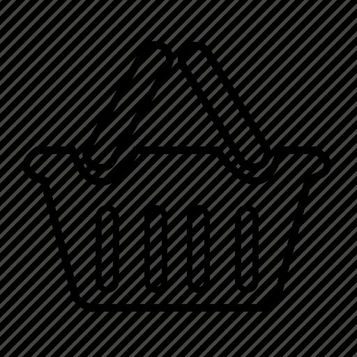 basket, buy, cart, ecommerce, shopping, store icon
