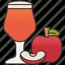 apple, beverage, cider, homemade, juice icon