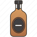 alcohol, bottle, garlic, liquor, vodka icon