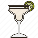 alcohol, bar, cocktail, margarita, party icon