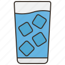 drink, freshness, iced, thirsty, water icon