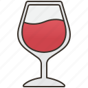 alcohol, red, wine, wineglass, winery icon