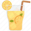 beverage, citrus, iced, lemonade, refreshment