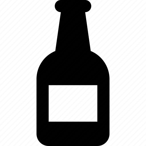 beer, bottle icon