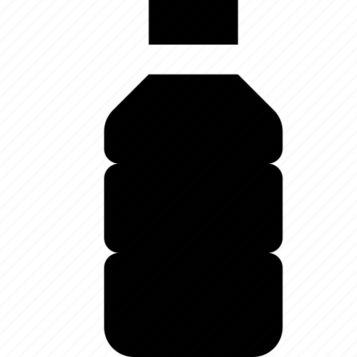 bottled, water icon