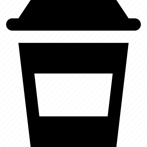 coffee, takeout icon