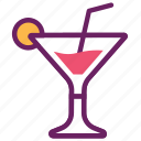 alcohol, beverage, cocktail, drinks, juice, party icon