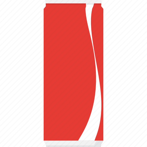 beverage, can, coca cola, cola, packaging, soda, softdrink icon