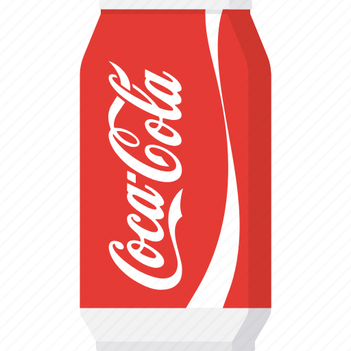 beverage, can, coca cola, coke, packaging, soda, softdrink icon
