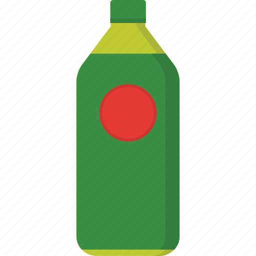 beverage, bottle, drink, food, green, packaging, tea icon