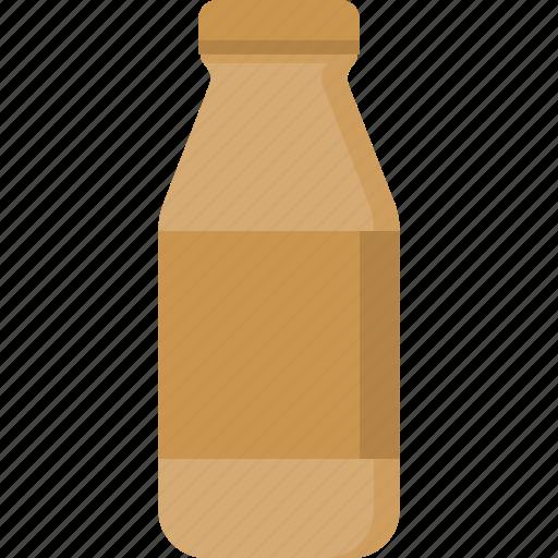 beverage, bottle, coffee, drink, food, milk, packaging icon