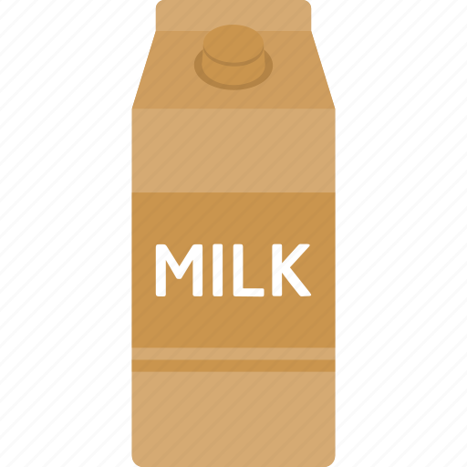 beverage, box, carton, coffee, drink, milk, packaging icon