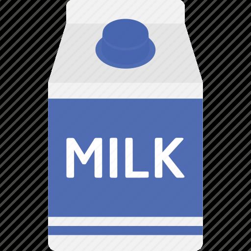beverage, box, carton, drink, healthy, milk, packaging icon