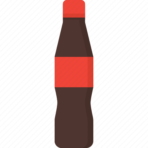 beverage, bottle, cola, drink, packaging, soda, soft drink icon