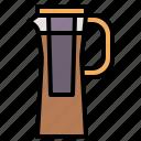 beverage, brew, coffee, cold, jug icon