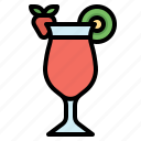 beverage, fruit, juice, mocktail, punch icon