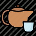 beverage, herbal, hot, tea, teapot icon