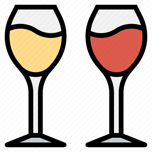 alcohol, beverage, cheers, glass, wine icon