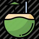 beverage, bottle, coconut, drink, food, healthy, restaurant icon