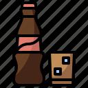 beverage, bottle, cola, drink, food, healthy, restaurant icon
