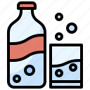 beverage, bottle, drink, food, healthy, restaurant, soda icon