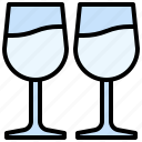 beverage, bottle, drink, glass, healthy, restaurant, wine