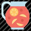beverage, fruit, jug, mocktail, punch icon