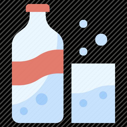 beverage, bottle, drink, food, healthy, restaurant, soda icon