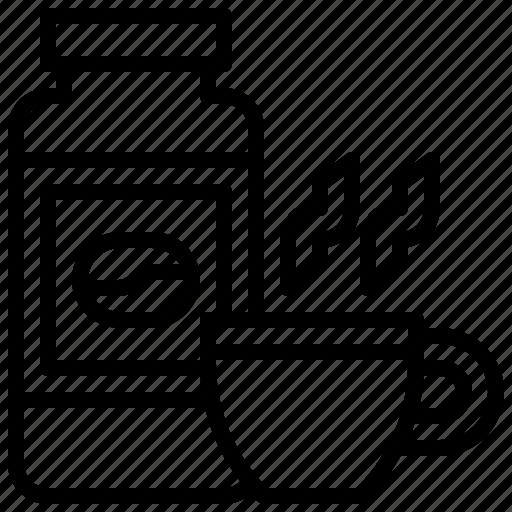 Beverage, bottle, coffee, drink, food, healthy, restaurant icon - Download on Iconfinder