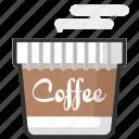 coffee, cup, drink, packaging, beverage, hot drink, hot