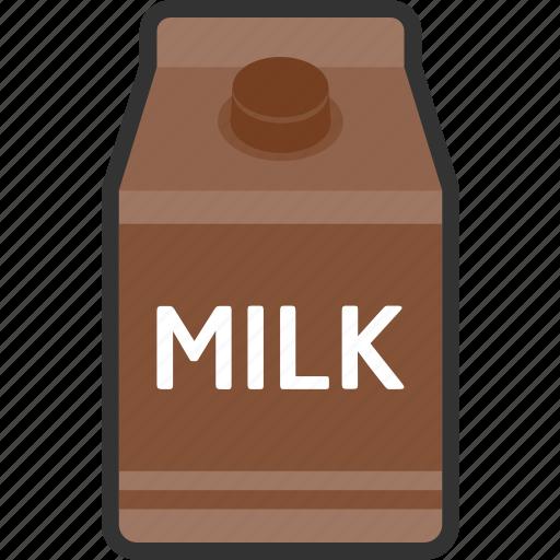 beverage, box, chocolate, drink, food, milk, packaging icon