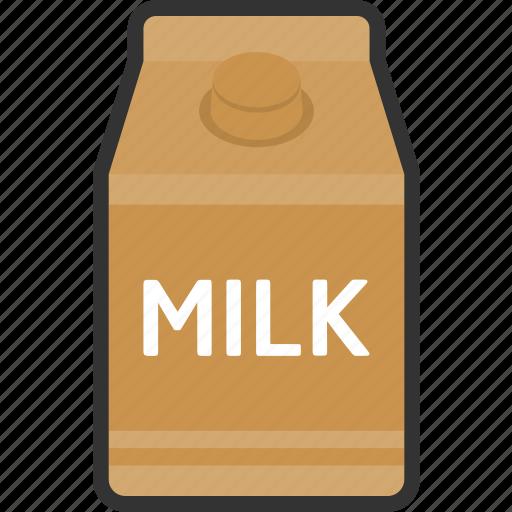 beverage, box, coffee, drink, food, milk, packaging icon
