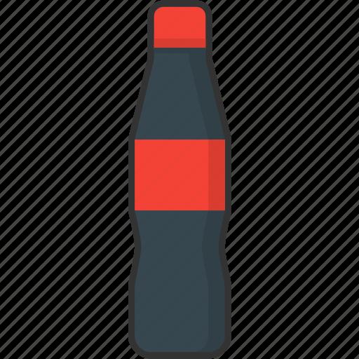beverage, bottle, cola, drink, packaging, soda, soft drink icon